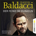 Cover des Mediums: Volker Wolf liest David Baldacci, Der Feind im Dunkeln