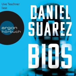 Uve Teschner liest Daniel Suarez, Bios