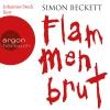 Johannes Steck liest Simon Beckett, Flammenbrut