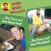 ¬Die¬ Tiere auf dem Bauernhof / Die Ponys auf dem Pferdehof