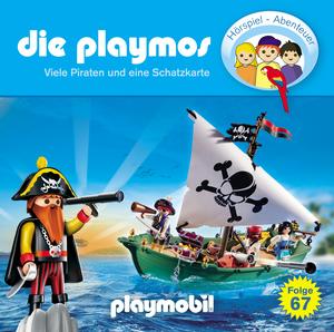 Viele Piraten und eine Schatzkarte