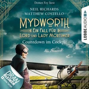 Demet Fey liest Neil Richards, Matthew Costello, Countdown im Cockpit