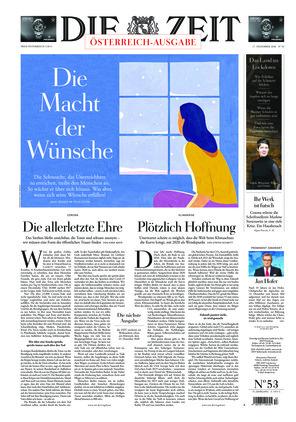 Die ZEIT Nr. 53/2020 (17.12.2020) - mit ZEITmagazin
