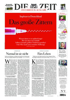 Die ZEIT Nr. 2/2021 (07.01.2021) - mit ZEITmagazin