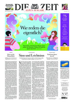 Die ZEIT Nr. 27/2021 (01.07.2021) - mit ZEITmagazin