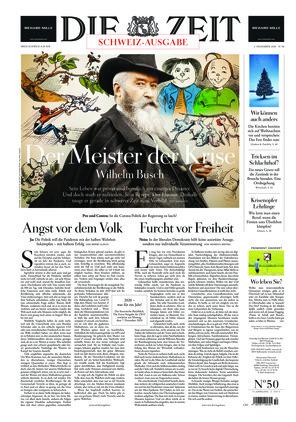 Die ZEIT Nr. 50/2020 (03.12.2020) - mit ZEITmagazin
