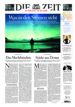 Die ZEIT Nr. 1/2020 (30.12.2020) - mit ZEITmagazin