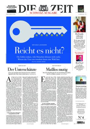 Die ZEIT Nr. 4/2021 (21.01.2021) - mit ZEITmagazin