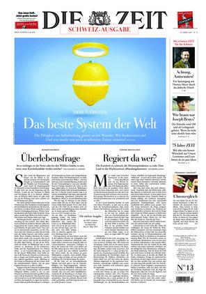 Die ZEIT Nr. 13/2021 (25.03.2021) - mit ZEITmagazin