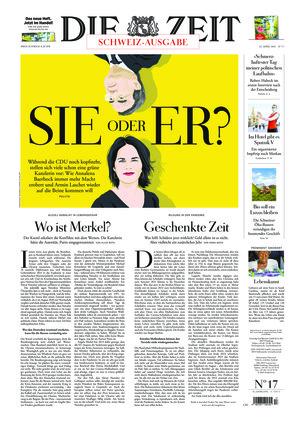 Die ZEIT Nr. 17/2021 (22.04.2021) - mit ZEITmagazin