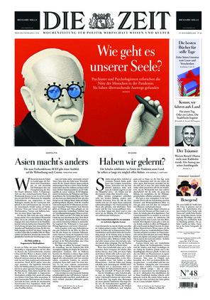 Die ZEIT Nr. 48/2020 (19.11.2020) - mit ZEITmagazin