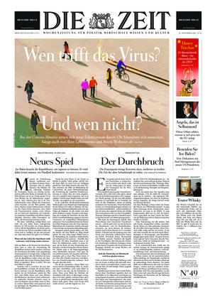 Die ZEIT Nr. 49/2020 (26.11.2020) - mit ZEITmagazin