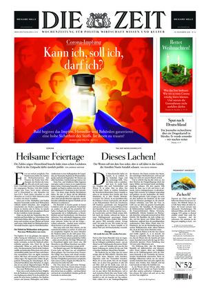Die ZEIT Nr. 52/2020 (10.12.2020) - mit ZEITmagazin