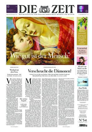Die ZEIT Nr. 54/2020 (23.12.2020) - mit ZEITmagazin