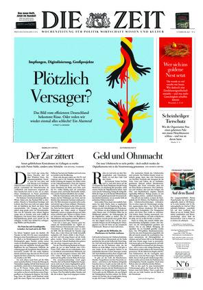 Die ZEIT Nr. 6/2021 (04.02.2021) - mit ZEITmagazin