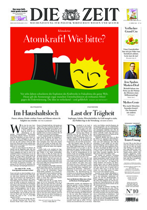 Die ZEIT Nr. 10/2021 (04.03.2021) - mit ZEITmagazin