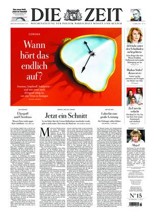 Die ZEIT Nr. 15/2021 (08.04.2021) - mit ZEITmagazin