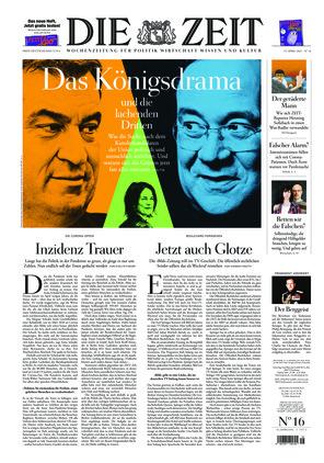 Die ZEIT Nr. 16/2021 (15.04.2021) - mit ZEITmagazin