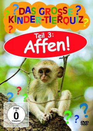 Das große Kinder-Tierquiz: Affen