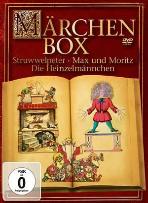 Märchenbox - Struwwelpeter, Max und Moritz, Die Heinzelmännchen